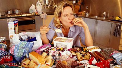 تغذیه و رژیم لاغری, پرخوری