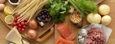 برنامه هاي غذايی, رژیم غذایی