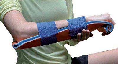 آموزش آتل بندی , شکستگی استخوان