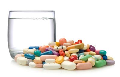 درمان درد معده, داروهای ضدافسردگی