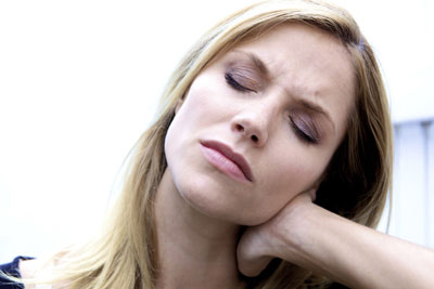 دردهای ماهیچهای, تمدد اعصاب