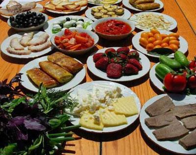 چه موادی را با هم نخوريم , تغذیه سالم