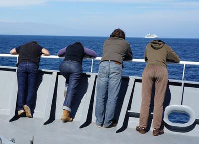 مسافران دریایی, خوراکی های ضد دریازدگی