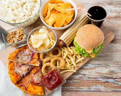 رژیم غذایی بدون گلوتن, مواد غذایی مضر مغز