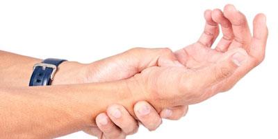 مفاصل دست, نشانههای سندرم تونل کارپال