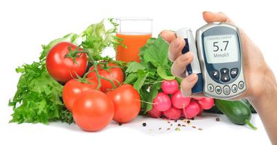 فشار خون, رژیم درمانی دیابت