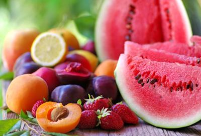 تغذیه سالم , میوه حاوی فیبر