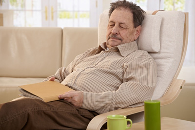 علت بیحالی و خستگی, خستگی در سالمندان