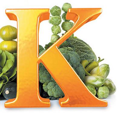سلامت استخوان , نشانه های کمبود ویتامین K