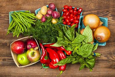کالری میوه ها و سبزیجات, میوه ها و سبزیجات حاوی ویتامین d
