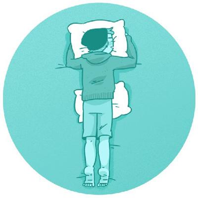 بهترین حالت های خوابیدن ,دردهای کمر