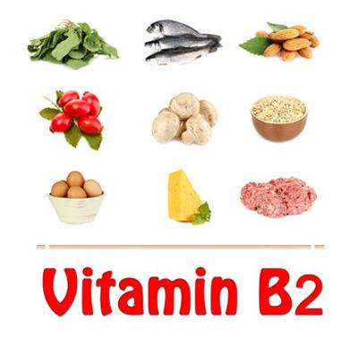خواص ویتامین B2 , بیماری کمبود ویتامین b2