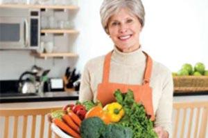 نبرد با یائسگی، با مصرف میوه و سبزی