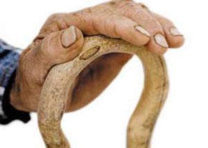 پا درد, استفاده از عصا ,عصاي C, آرتروز
