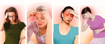انواع سردرد و علائم آن, انواع سردرد میگرنی
