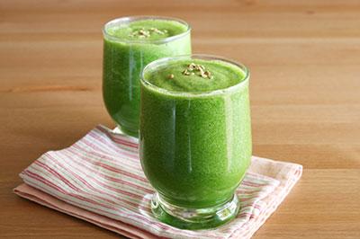 نوشیدنی سبز لاغری