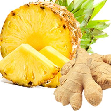 آناناس و زنجبیل,خواص آناناس و زنجبیل