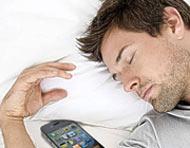 علل بی خوابی,مشکلات خواب,تاثیر تلفن همراه بر خواب