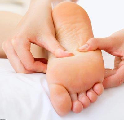 افزایش قد ماساژ کف پا