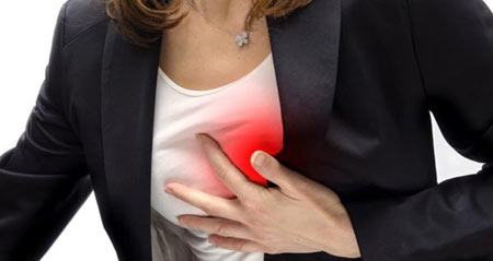 نشانه های حمله قلبی در زنان,حمله قلبی در زنان, علائم حمله قلبی در زنان