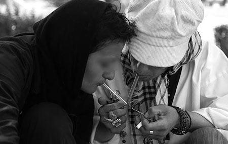 زن معتاد و علت معتاد شدن زنان