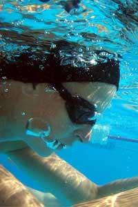 عکس ورزش شنای زنان