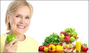 یائسگی,علائم یائسگی,کاهش عوارض یائسگی با تغذیه