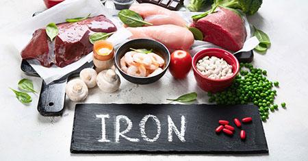 عوارض کمبود آهن, علائم کمبود آهن در بدن