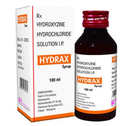 موارد مصرف شربت هیدروکسی زین, نحوه مصرف شربت هیدروکسی زین
