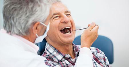 درمان دندان لق در بزرگسالان, لق شدن دندان