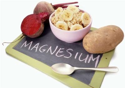 کمبود منیزیم, مواد غذایی منیزیم دار