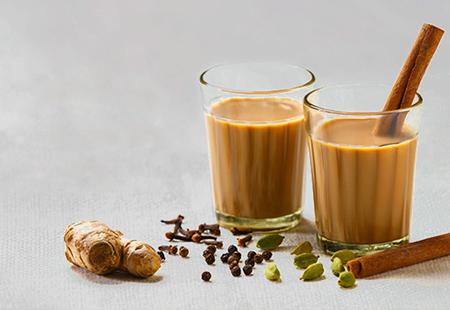 چای ماسالا نوشیدنی سنتی هندی