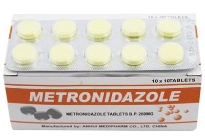کاربرد مترونید ازول, موارد مصرف مترونیدازول
