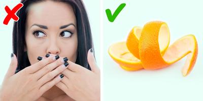 رفع بوی بد دهان طب سنتی, کشتن باکتری ها در دهان