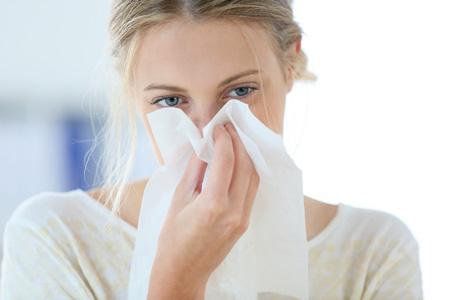 عطسه و آبریزش بینی,درمان حساسیت آبریزش بینی