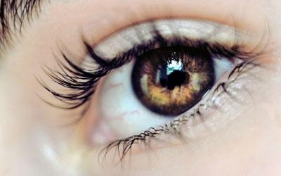 علایم شب کوری, کمبود ویتامین A در چشمها