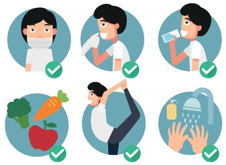 پیشگیری از آنفلوآنزا , جلوگیری از آنفولانزا