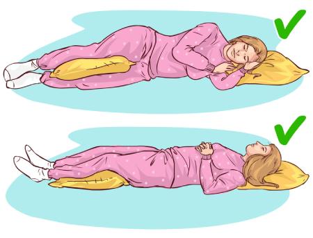 روش های خوابیدن, بهترین روش خوابیدن