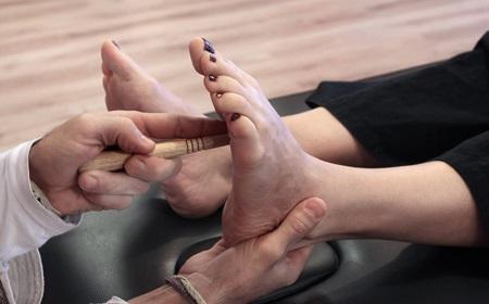بازتاب درمانی کف دست, بازتاب درمانی پا, بازتاب درمانی