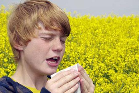 درمان و کاهش عوارض آلرژی