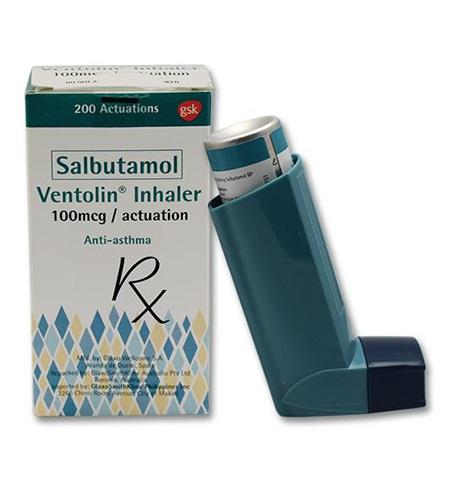 اسپری سالبوتامول , سالبوتامول , داروی سالبوتامول