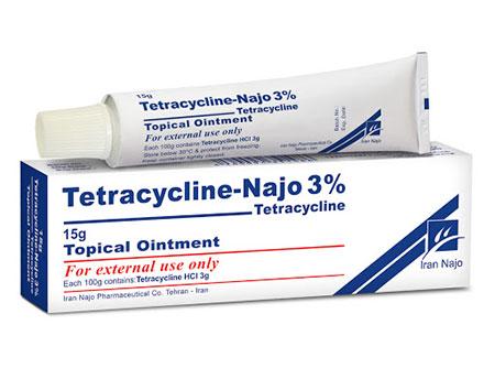 تتراساکلین,موارد مصرف پماد تتراساکلین
