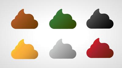 روشن شدن رنگ مدفوع, تشخیص بیماری از رنگ مدفوع