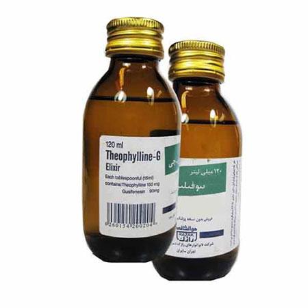 موارد مصرف شربت تئوفیلین جی , شربت تئوفیلین جی
