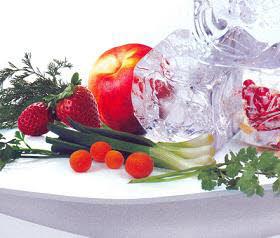 میوه و شیرینی انجماد