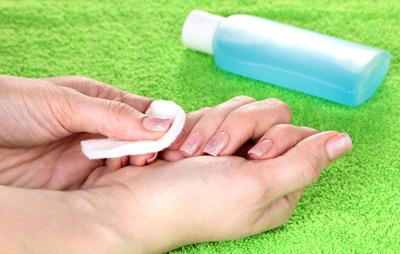 پاک کردن چسب قطره اي,نحوه پاک کردن چسب قطره اي
