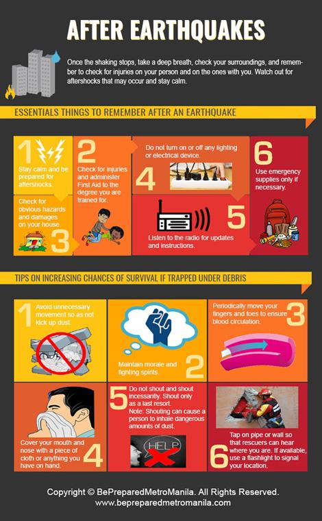 نکاتی هنگام زلزله,توصیه هایی برای زلزله