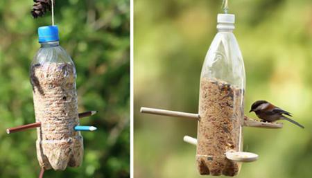 تزیین بطری پلاستیکی,کاربردهای بطری پلاستیکی