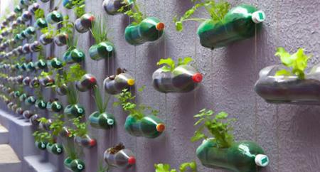 تزیینات جالب بطری های پلاستیکی, نحوه استفاده از بطری پلاستیکی