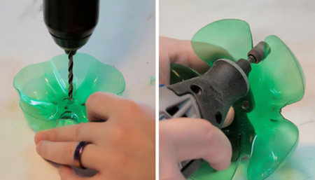طرز استفاده از بطری های پلاستیکی,کاربردهای بطری پلاستیکی